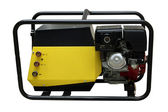 The portable petrol generator — Stock Photo