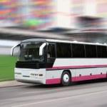 The tourist bus — Stock Photo