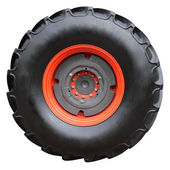 Tractor tire — Stock Photo