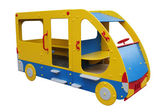 The bus children's wooden — Stock Photo