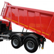 Stock Photo: Lorry with lifted body