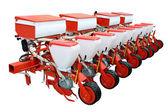 Red modern seeder — Stock Photo