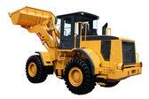Yellow tractor — Stock Photo