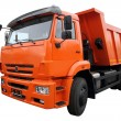 Stock Photo: Orange lorry