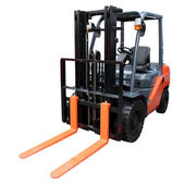 Orange loader — Stock Photo