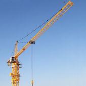 The modern tower crane — Stock Photo
