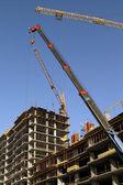 Panorama of building — Stock Photo