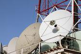 Television aerials — Stock Photo