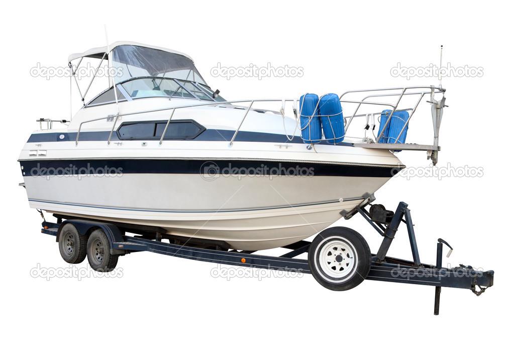 катера лодки и прицепы к ним