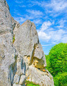 Rocks of Carpathian mountains — Stock Photo