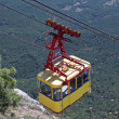 Ropeway in mountains — Stock Photo