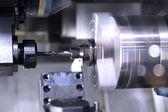 The modern processing machine — Stock Photo
