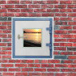 Royalty-Free Stock Photo: A Window in the Wall