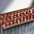 Stock Photo: Heat Exchanger