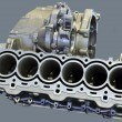 Part of car engine — Stock Photo