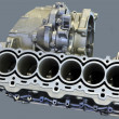 Stock Photo: Part of car engine