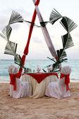 Cena romántica — Foto de Stock