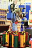 Rope braiding machine — Stock Photo