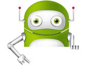 Cute Robot — Stock Vector