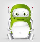 Leuke robot — Stockvector