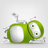 Cute Robot — Stockvektor