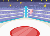 Boxing Ring — Stock Vector
