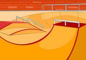 Skate Ramp — Stock Vector