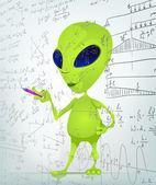 Cartoon_Character_ALIEN_030_2_CS5 — Stock Vector