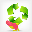 Recycle Sign — Imagen vectorial
