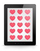 Digital Tablet Concept — Stock Vector