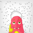 Royalty-Free Stock Vector Image: Funny Monster.
