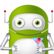 Cute Robot — Stock Vector #24806865