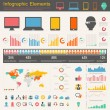 IT Industry Infographic Elements — Stock Vector #26794705