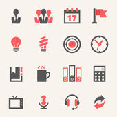 Business. Icon set — Stock Vector