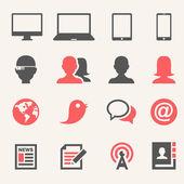 Gadgets. Icon set — Stock Vector