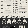Oil Industry Infographic Elements — Stock Vector #27285341