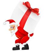 Weihnachtsmann — Stockvektor