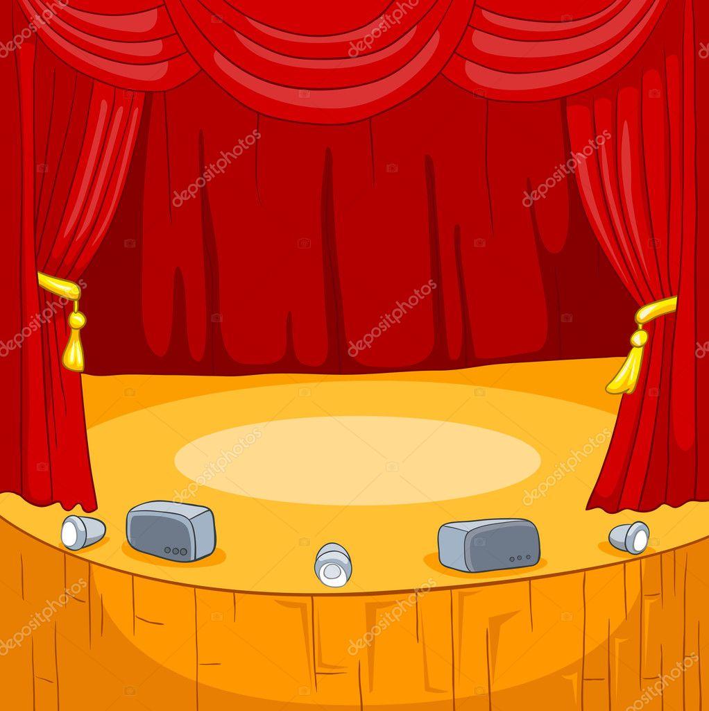 Cartoon Concert Stage