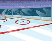 Hockey Rink — Stock Vector