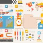 IT Industry Infographic Elements — Stock Vector #33098215