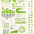 Постер, плакат: Ecology Infographic Template