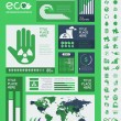 Ecology Infographic Template. — Stock Vector