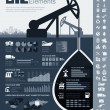 Oil Industry Infographic Template — Stock Vector #34082795