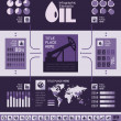 oil industry infographic template — Stock Vector #34113309