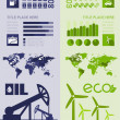 Oil Industry Infographic Template — Stock Vector #35078307