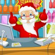 Santa Claus — Stockvectorbeeld