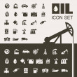 Oil Industry Flat Icon Set — Stock Vector #35144133