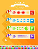 Travel Infographic Template. — Stock Vector