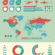 Transportation Infographic Template. — Stockvektor