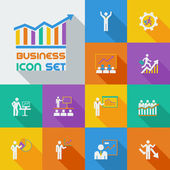 Business infographic sjabloon. — Stockvector